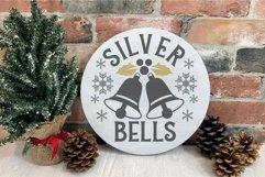 Christmas silver and Gold elegant SVG Bundle - 10 designs Product Image 5
