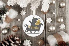Christmas silver and Gold elegant SVG Bundle - 10 designs Product Image 4