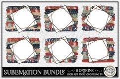 Christmas Sublimation Bundle   6 Sublimation Backgrounds Product Image 1