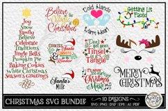 Christmas Bundle Vol 1   10 Fun Christmas SVG Designs Product Image 1