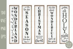 Huge Christmas Sign Bundle - 30 Vertical Christmas Designs Product Image 2