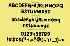 Chunky Cheese - a playful bold handwritten font Product Image 3