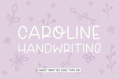 CAROLINE Sweet Handwriting Font Product Image 1