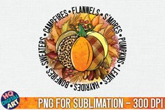 Fall Sublimation Bundle 18 PNG Designs Product Image 2