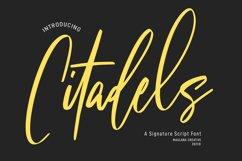 Citadels Signature Script Font Product Image 1