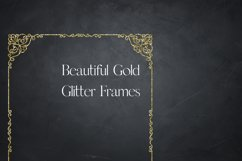 Gold Glitter Frames, Photo Effects Product Image 6