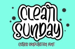 clear sunday Product Image 1