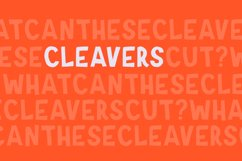 Cleavers Product Image 1