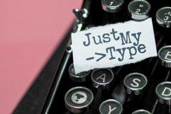 Clerk | Typewritten Display Type! Product Image 2