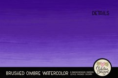 Watercolor Background Paper - Brushed Ombre Watercolor Product Image 3