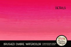 Watercolor Background Paper - Brushed Ombre Watercolor Product Image 4