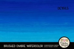 Watercolor Background Paper - Brushed Ombre Watercolor Product Image 5