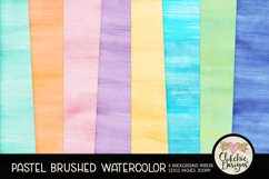 Watercolor Scrapbook Papers Pastel Watercolor Backgrounds Product Image 1
