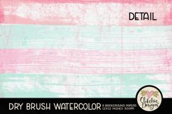 Watercolor Scrapbook Papers Dry Brush Watercolor Backgrounds Product Image 3