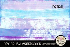 Watercolor Scrapbook Papers Dry Brush Watercolor Backgrounds Product Image 5