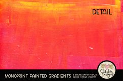 Painted Background Paper - Monoprint Gradient Grunge Product Image 3