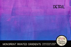 Painted Background Paper - Monoprint Gradient Grunge Product Image 4