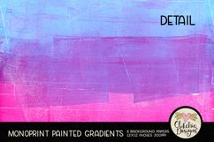 Painted Background Paper - Monoprint Gradient Grunge Product Image 5