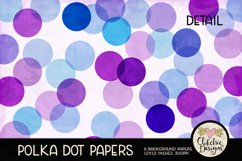 Polka Dot Scrapbook Papers - Polka Dot Papers Backgrounds Product Image 5