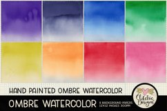 Watercolor Ombre Background Textures