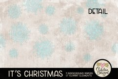Christmas Digital Scrapbook Kit - Christmas Clipart Product Image 5