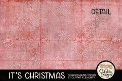 Christmas Digital Scrapbook Kit - Christmas Clipart Product Image 4
