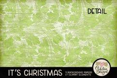 Christmas Digital Scrapbook Kit - Christmas Clipart Product Image 3