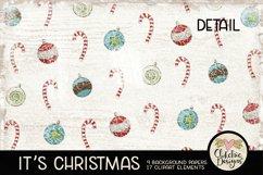 Christmas Digital Scrapbook Kit - Christmas Clipart Product Image 6