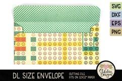 Slimline Envelope SVG - DL Envelope Cutting File Product Image 3