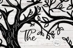Like Branches on a Tree Family - Customizable SVG Product Image 5