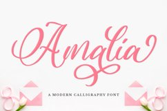 Modern Calligraphy Font Product Image 1