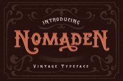 Vintage Typeface Font Product Image 1