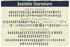 Seaman Label Font Product Image 4