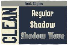 Seaman Label Font Product Image 2