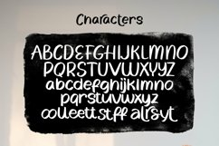 Web Font Coco Bamboo - Quirky Handrawn Font Product Image 6