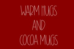 Cocoa Mugs - An All Caps Font Product Image 3