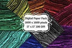 Dark Fluid Art Digital Paper Pack Product Image 1