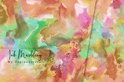 Colorful Marble Digital Paper, Ink Marbling, digital marble Product Image 3