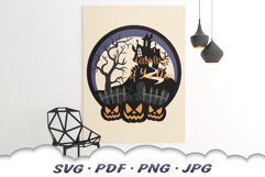 Come In If You Dare Halloween Party SVG Cut Files Product Image 4