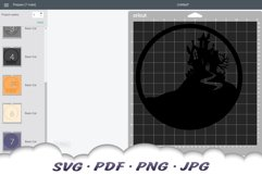 Come In If You Dare Halloween Party SVG Cut Files Product Image 2