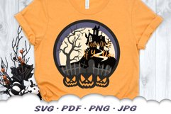 Come In If You Dare Halloween Party SVG Cut Files Product Image 5