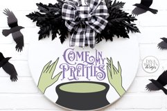 Come In My Pretties SVG   Halloween Witch's Cauldron Design Product Image 1