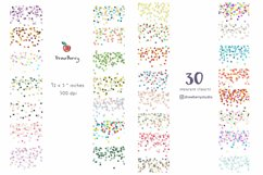 Seamless Confetti Overlay Clipart Border| Drawberry CP058 Product Image 2