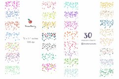 Confetti Overlay Clipart Seamless Border  Drawberry CP059 Product Image 2