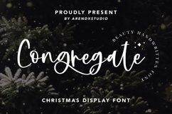 Congregate - Beauty Handwritten Font Product Image 1