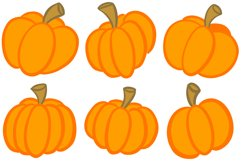 16 Cartoon Pumpkin Illustration Collection for Halloween Product Image 4