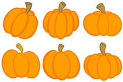 16 Cartoon Pumpkin Illustration Collection for Halloween Product Image 3