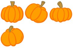 16 Cartoon Pumpkin Illustration Collection for Halloween Product Image 2