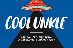Cool Unkle Handwritten Display Font Product Image 1