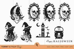 Halloween SVG Bundle 40 Designs Cut Files Product Image 6